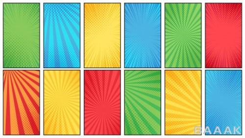 مجموعه 12 طرح با استایل قدیمی برای کاور کتاب و استوری اینستاگرام