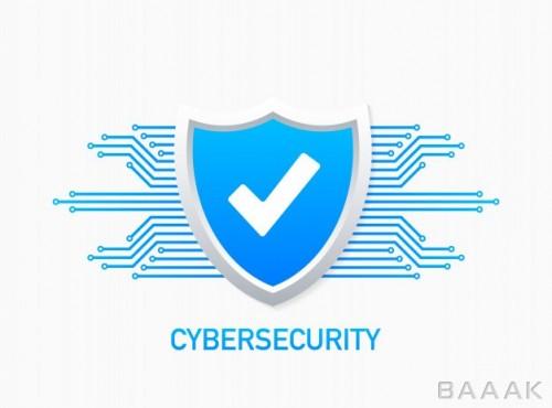 لوگو با موضوع امنیت سایبری