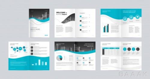 قالب بروشور تجاری برای کسب و کار