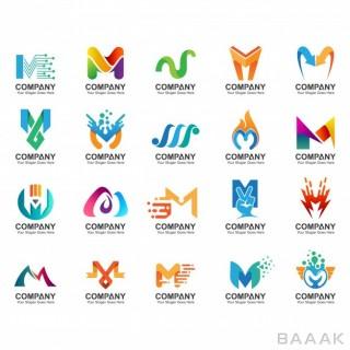 مجموعه لوگو با حرف M انگلیسی