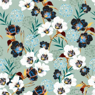 پترن جذاب و مدرن Blossom floral pattern blooming many kind botanical motifs