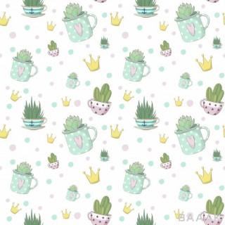 پترن زیبا Succulent pattern
