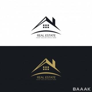 لوگو فوق العاده Logo design real estate