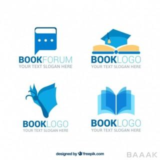 لوگو زیبا و خاص Great book logos