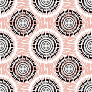 پس زمینه زیبا و جذاب Textile vector seamless pattern casual fashion background texture peach color autumn abstract fabric design