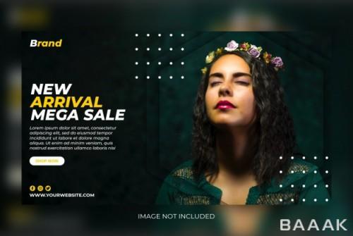 قالب پست جذاب اینستاگرام با موضوع فروش کالکشن های جدید لباس های شیک و فشن