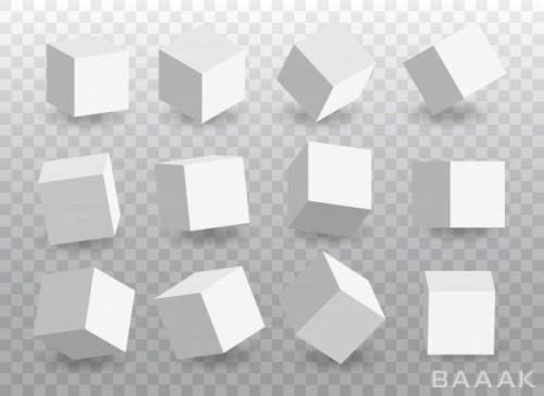 مجموعه مکعبهای سه بعدی
