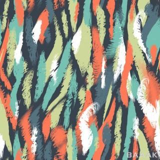 طرح الگوی یکپارچه با زمینه براشهای رنگارنگ