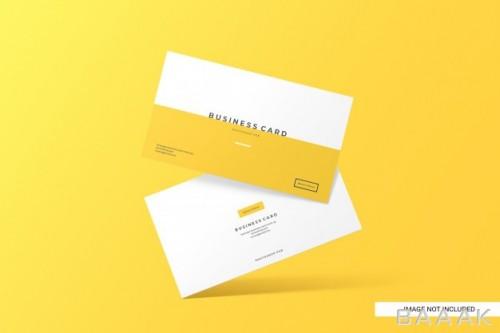 قالب کارت ویزیت مینیمال برای بیزینس و کسب و کار
