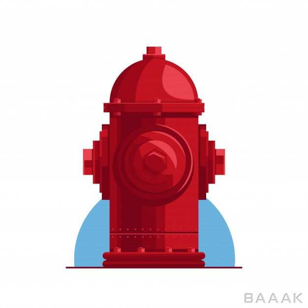 تصویر-شیر-آتش-نشانی-قرمز-رنگ_172484842