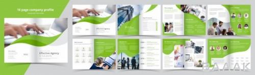 قالب حرفه ای بروشور برای معرفی کسب و کار