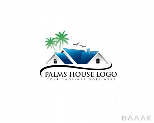 لوگو طرح خانه ویلایی مناسب مشاورین املاک
