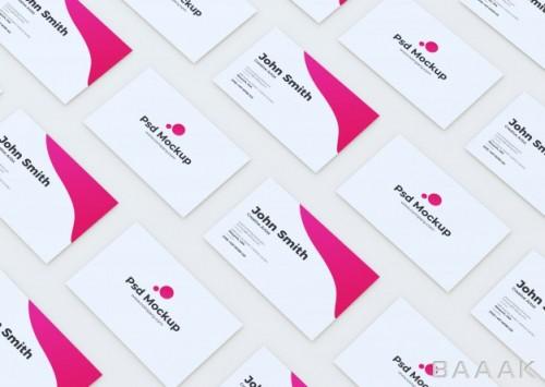 موکاپ مدرن کارت ویزیت برای کسب و کار