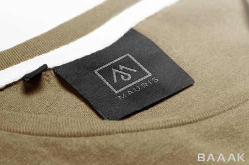 موکاپ تگ لباس برای لوگو