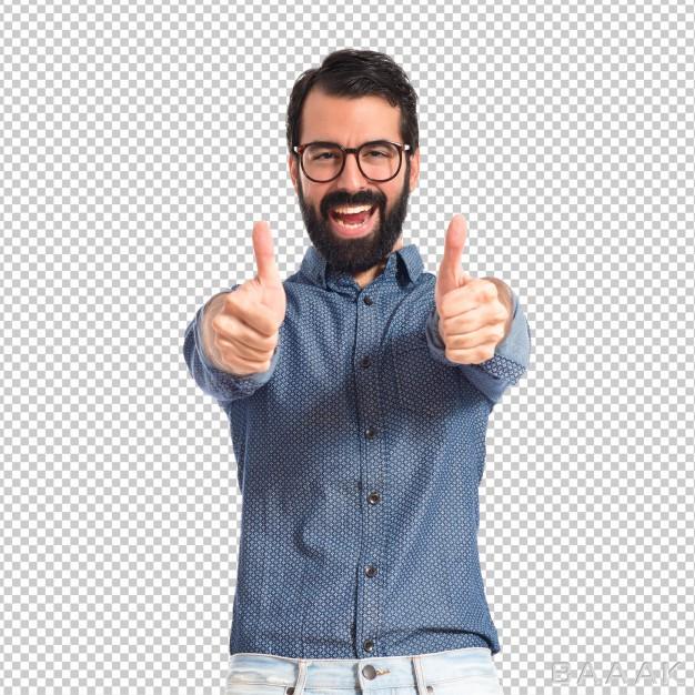 تصویر-مرد-در-حال-نشان-دادن-لایک-بدون-پس-زمینه_592629742