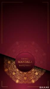 پس زمینه خاص و خلاقانه Creative luxury creative luxury mandala background