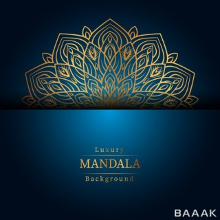 پس زمینه زیبا Creative luxury mandala background