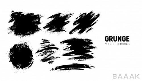 پس زمینه مدرن Grunge backgrounds set