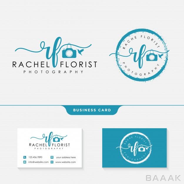 کارت-ویزیت-جذاب-و-مدرن-Photographer-logo-template-business-card_588576532