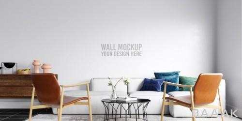 موکاپ دیزاین دیوار