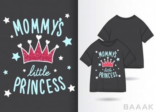 طرح تیشرت جذاب و مدرن Typography slogan with t shirt design