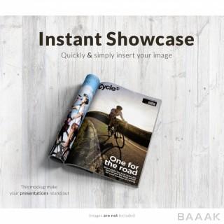 موکاپ قالب مجله