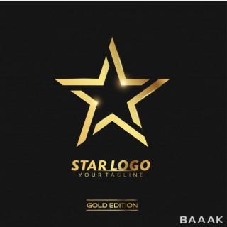 لوگو فوق العاده Gold star logo