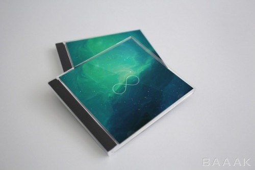موکاپ کاور و قاب CD