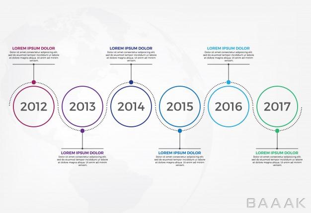 اینفوگرافیک-فوق-العاده-Horizontal-timeline-infographic-design-template_3698023