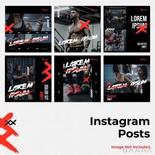 شبکه اجتماعی مدرن Fierce social media instagram banner