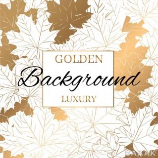 پس زمینه خاص و مدرن Modern gold pattern texture background