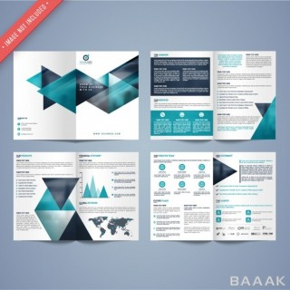 قالب ساخت بروشور برای معرفی سازمان و کسب و کار