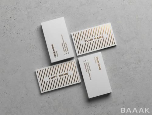 دیزاین مدرن قالب کارت ویزیت حرفه ای