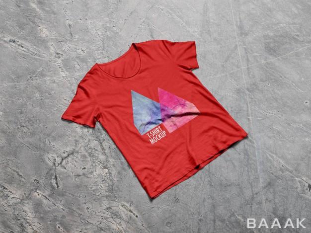 موکاپ-خاص-و-مدرن-Men-t-shirt-mockup_506237936