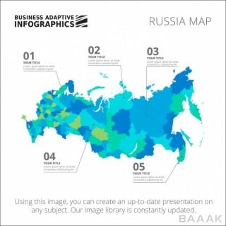 اینفوگرافیک جذاب Infographic template design