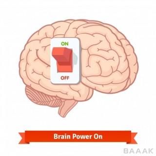 تصویر وکتوری با موضوع روشن شدن مغز و ذهن