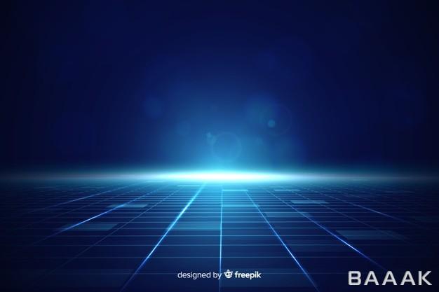 پس-زمینه-مدرن-و-جذاب-Futuristic-horizon-background-with-blue-light_315096639
