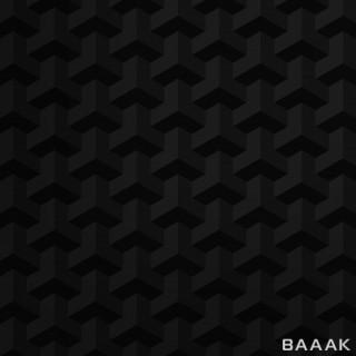 پس زمینه زیبا Dark geometric abstract pattern background