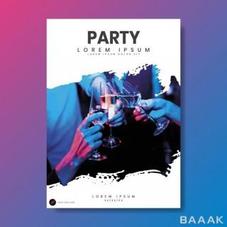 پوستر خلاقانه Party poster