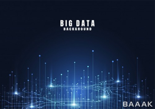پس زمینه خاص و مدرن Abstract technology background with big data internet connection