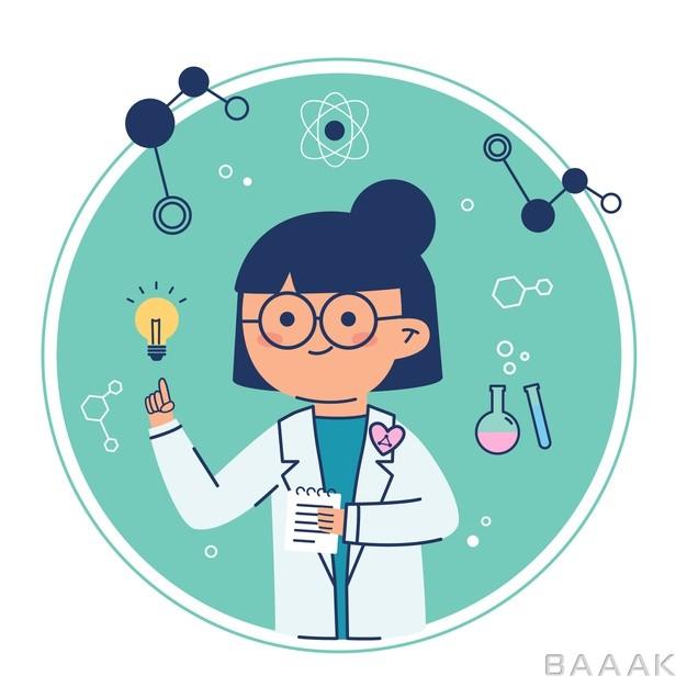 دانشمند-زن-همراه-با-ایده_466192215