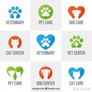لوگو خاص و مدرن Veterinary logo templates