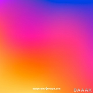 پس زمینه زیبا و خاص Instagram background gradient colors