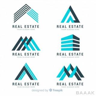 لوگو جذاب Modern real estate logo collection