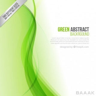 پس زمینه مدرن و جذاب Green abstract background