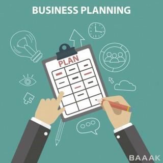 پس زمینه خاص و خلاقانه Business planning background