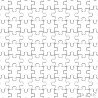 پترن پرکاربرد Puzzle pieces pattern