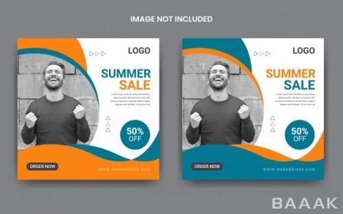 پست تبلیغاتی ویژه معرفی محصولات فروش تابستانی
