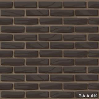 پترن وکتوری با تم دیوار برای پس زمینه