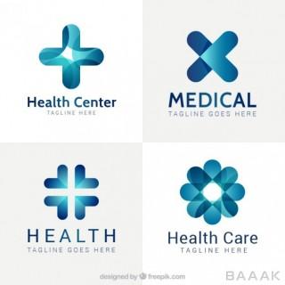 ست لوگوی آماده وکتوری برای موضوعات سلامت